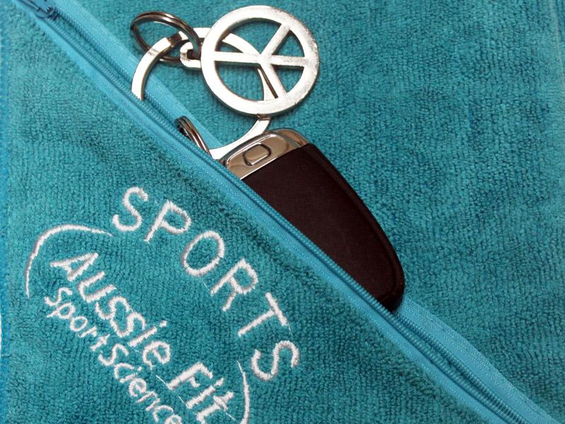 Sportieve Promo: Microfiberhanddoek